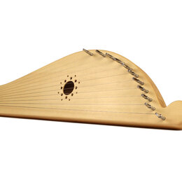 Щипковые инструменты - Гусли «Ладья» 11 струн (хвойные породы), 0
