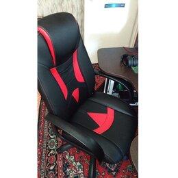 Компьютерные кресла - Геймерское игровое кресло VIKING-8 черно-красный, 0