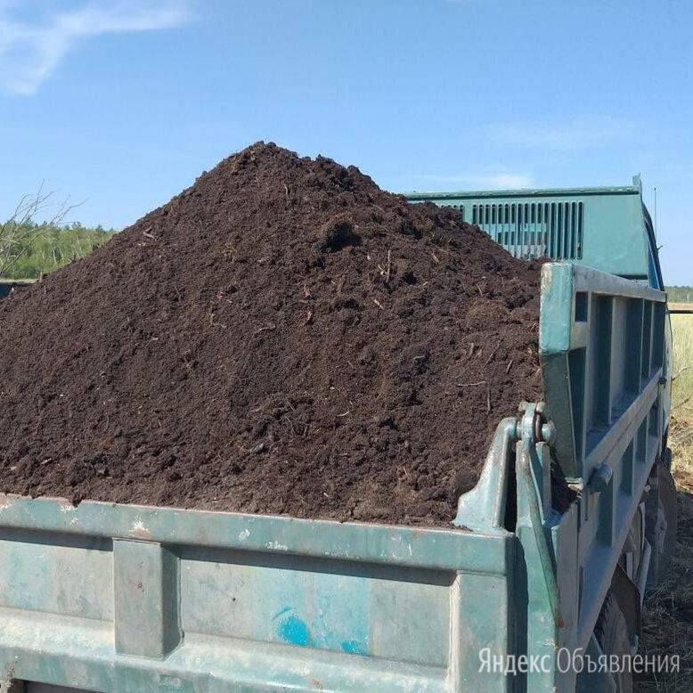 Грунт, торф, чернозем с доставкой от 1 куба (1151) по цене 543₽ - Субстраты, грунты, мульча, фото 0