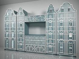 Шкафы, стенки, гарнитуры - Шкаф стеллаж дом. Шкафы-домиком. Домики шкафы…, 0