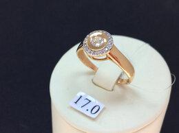 Кольца и перстни - Золотое кольцо с Фианитами женское, размер 18,0, 0