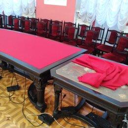 Ремонт и монтаж товаров - перетяжка сукна конференц залов, 0