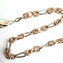 Браслеты - Золотой браслет, лисий хвост, 18,5 см, 0