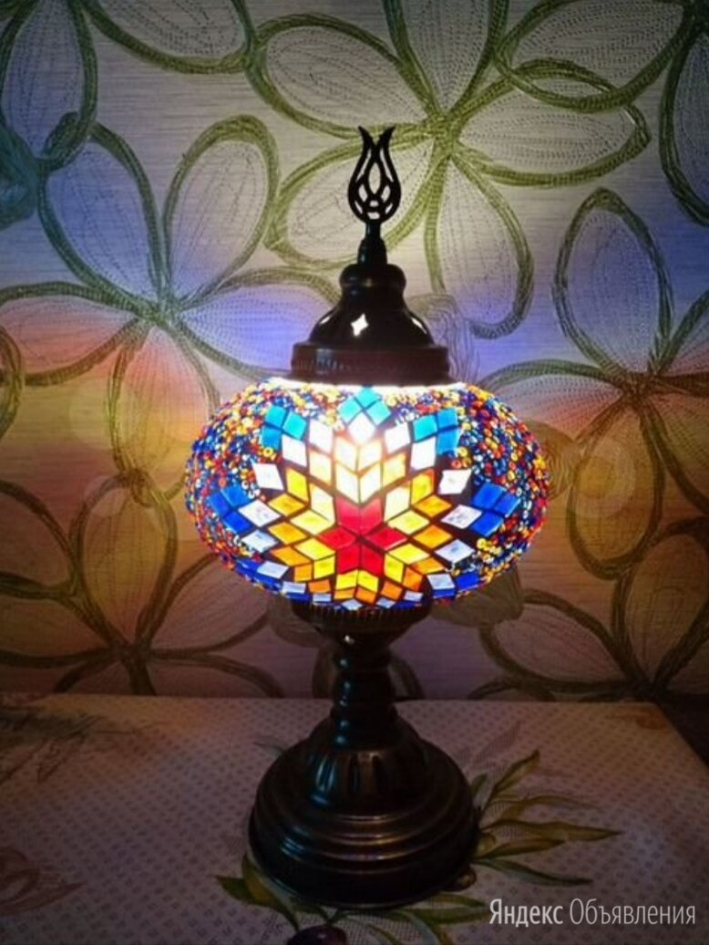 Светильник настольная лампа ночник по цене 4000₽ - Ночники и декоративные светильники, фото 0