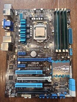 Процессоры (CPU) - i7 3770k, Asus P8Z77V-LK, DDR3 4x4Гб, 0