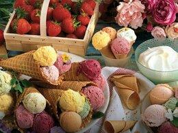 Торговля - Передвижной Ларек Мороженого Возле ТЦ, 0