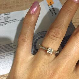 Кольца и перстни - Кольцо золотое , 0