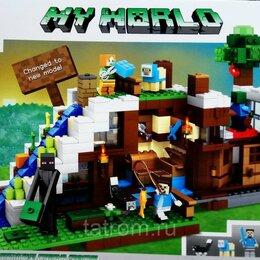 Игровые наборы и фигурки - Конструктор Minecraft My World «База на водопаде», 0