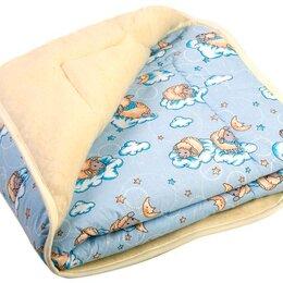 """Одеяла - Одеяло """"Малыш SB"""" Овечки 90*120 см, с натуральной шерстью мериноса ..., 0"""