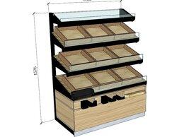 Витрины - Красивые витрины стеллажи для хлеба и выпечки , 0
