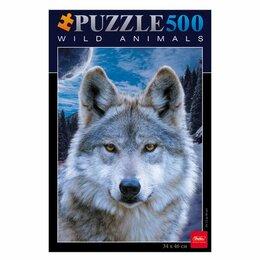 Пазлы - Пазл 500 элементов STANDARD 340*460мм А2 «Волк», 0