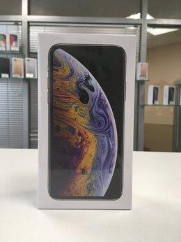 Мобильные телефоны - iPhone Xs Max 256gb silver (A2101) Ростест, 0