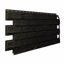 Сайдинг - Панель отделочная VILO  Brick DARK BROWN, 0