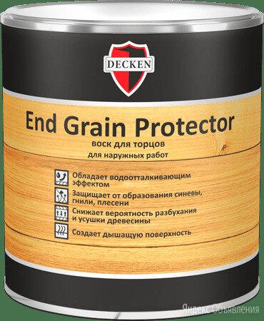 Воск для торцов End Grain Protector DECKEN 0,75л по цене 1098₽ - Масла и воск, фото 0