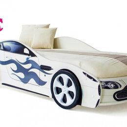 Кроватки - Кровать-машина Бондмобиль, белый, 0