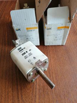 Электрические щиты и комплектующие - Плавкая вставка предохранителя ППНИ-37, габарит…, 0