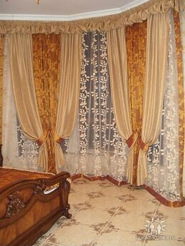 Дизайн, изготовление и реставрация товаров - Пошив штор и домашнего текстиля, 0