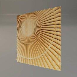 Стеновые панели - Деревянная 3D панель Milky way, 0