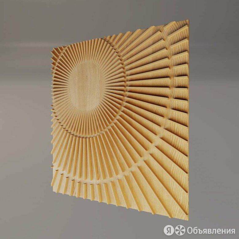 Деревянная 3D панель Milky way по цене 9000₽ - Стеновые панели, фото 0