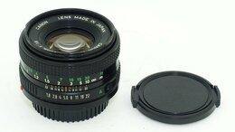 Объективы - Объектив Canon Lens FD 1:1,8 50mm  , 0