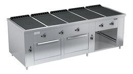Промышленные плиты - Плита газовая Вулкан ПРГ-IIA-5С 2ДШ Maxi, 0