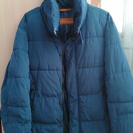 Куртки - куртка мужская синяя размер 48, 0