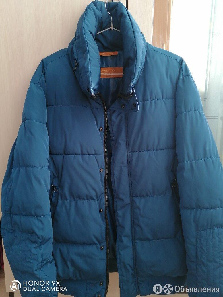 куртка мужская синяя размер 48 по цене 2000₽ - Куртки, фото 0