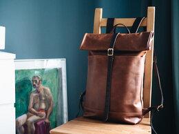 Сумки - Новый кожаный рюкзак оригинал, 0