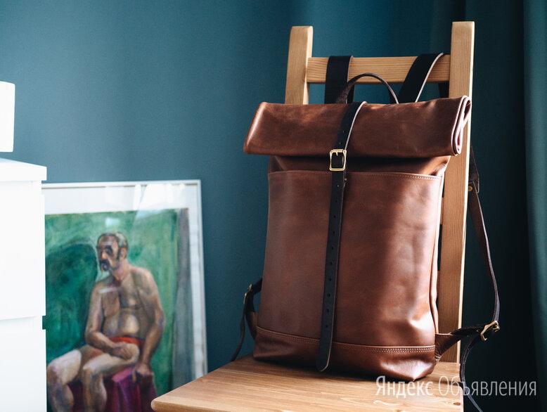 Новый кожаный рюкзак оригинал по цене 14000₽ - Сумки, фото 0