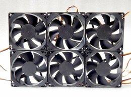 Кулеры и системы охлаждения - Цена за 6шт. Вентиляторы 80х80мм 3pin 12V, 0