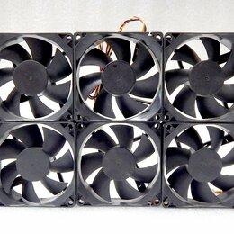 Кулеры и системы охлаждения - Цена за 6шт. Вентиляторы SUNON  80х80мм 3pin 12V, 0