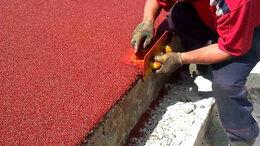 Садовые дорожки и покрытия - Резиновое покрытие для детской площадки 10 мм, 0
