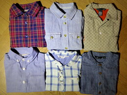 Рубашки - Рубашки из Швеции для мальчика 6 шт пакет 90-104см, 0