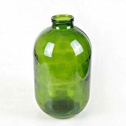 Этикетки, бутылки и пробки - Банка 10 л ТВИСТ (зеленая), 0