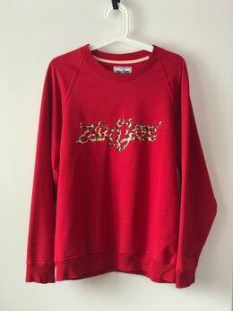 Толстовки - Продам свитшот красный ziq&yoni в Самаре, 0