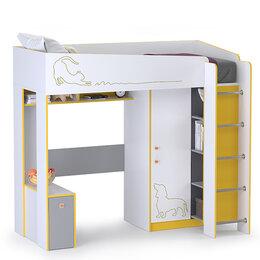 Кровати - Кровать-чердак Альфа 11.20 цвет солнечный…, 0