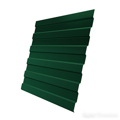 Профнастил С-8 0,7 RAL 6005 зеленый мох 2 м по цене 3033₽ - Кровля и водосток, фото 0