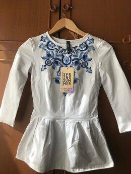 Блузки и кофточки - Блузка новая с баской, 0