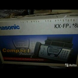 VoIP-оборудование - Факс Panasonic Panasonic KX fp m8, 0