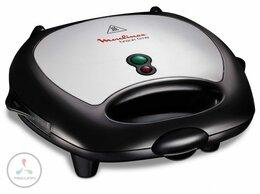 Сэндвичницы и приборы для выпечки - Сэндвичница Moulinex SW 611812, 0