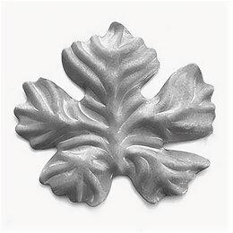Тротуарная плитка, бордюр - Виноградный лист (95x85 (2мм)), 0