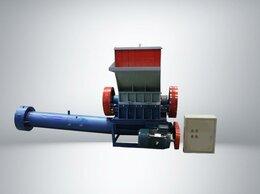 Производственно-техническое оборудование - Дробилка моющая для плёнки и мешковины со шнеком, 0