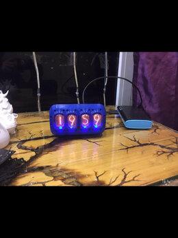 Часы настольные и каминные - Часы на ретро лампах, 0