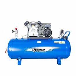 Воздушные компрессоры - Компрессор ременной Remeza СБ4/С-200.LB30, 0