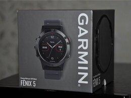 Умные часы и браслеты - Garmin Fenix 5 (новые, запечатанные), 0