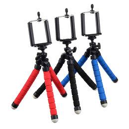 Фотоаппараты - Штатив для телефона, гибкий, 24см, 0