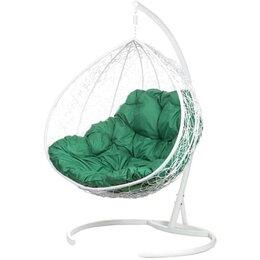 Подвесные кресла - Двойное подвесное кресло Gemini white, БГ, 0