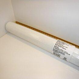 Бумага и пленка - БУМАГА ГОФРИРОВАННАЯ 50*250 128гр флорист белая, 0
