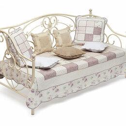 Кровати - Кровать металлическая Jane Day Bed Античный Белый, 0