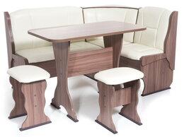 Мебель для кухни - Кухонная скамья со столом и табуретами в…, 0